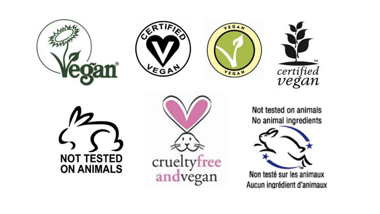 certificaciones cosmética crueltyfree y/o vegana