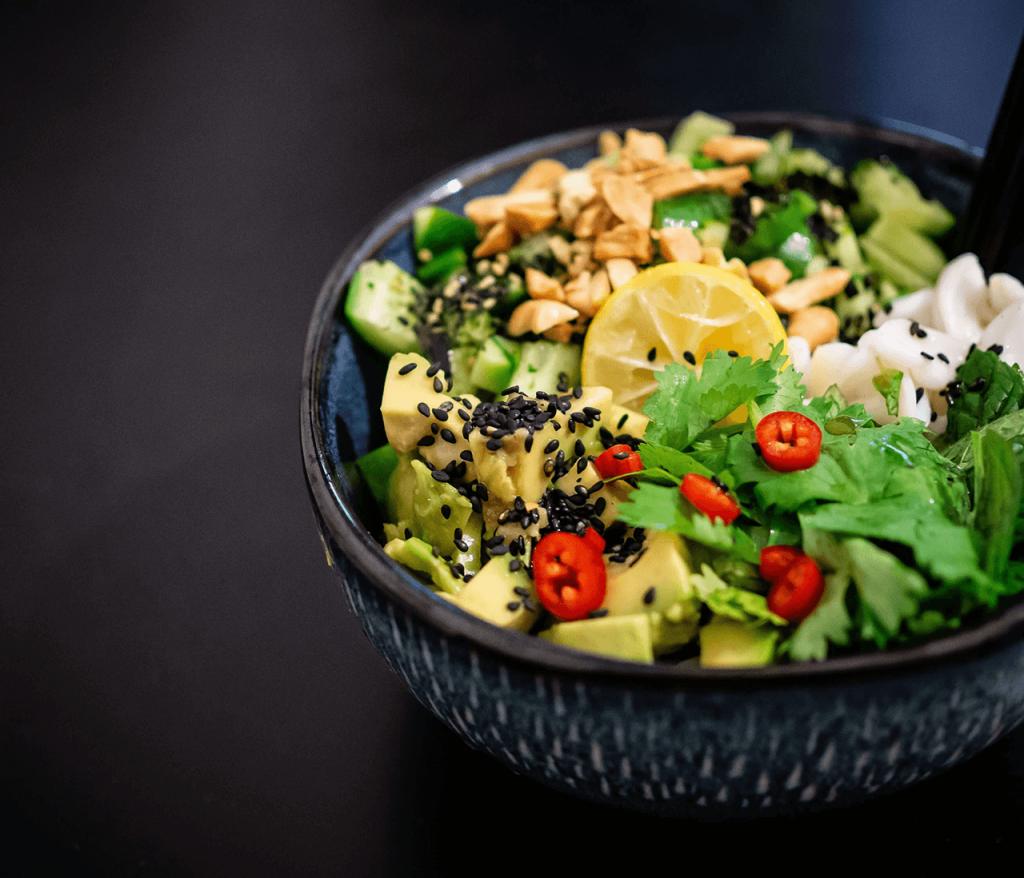 menu detox ensalada