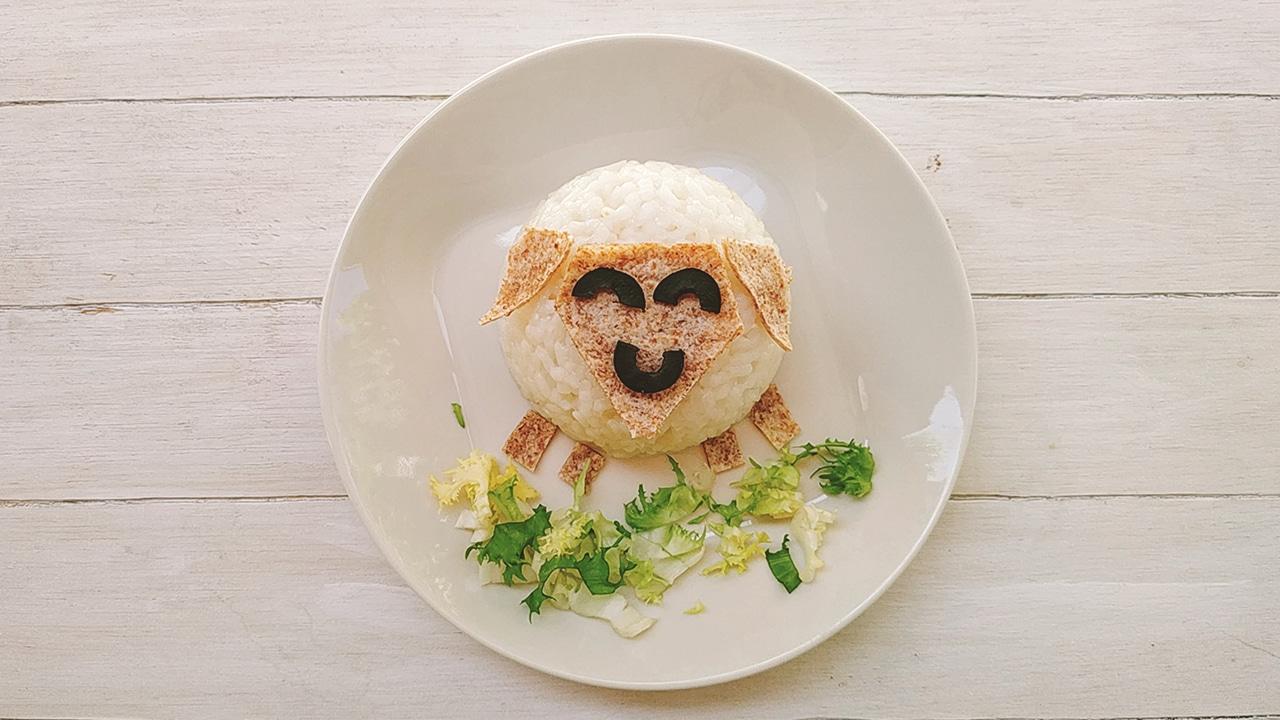 Ovejita de arroz