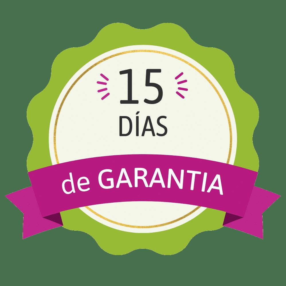 Garantía 15 días